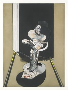 Francis Bacon, SEATED FIGURE (SABATIER 7)