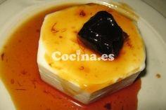 Flan de coco casero