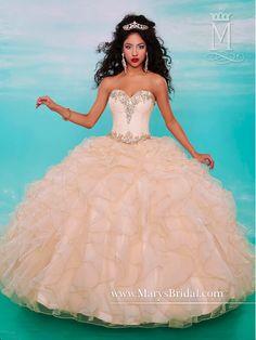 Vestidos de quinceañera de gala 2015 de Marys Bridal