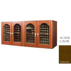 Vinotemp Vino-400credpro-engoak 304 Bottle Provincial Series Four Door Wine Cellar Credenza - Glass Doors / English Oak Cabinet by Vinotemp. $6049.00. Vinotemp VINO-400CREDPRO-ENGOAK 304 Bottle Provincial Series Four Door Wine Cellar Credenza - Glass Doors / English Oak Cabinet. VINO-400CREDPRO-ENGOAK. Wine Cellars. Vinotemp Wine Cellars are all-in-one wine storage solutions hand-crafted with domestic woods in Southern California. They maintain an ideal environme...