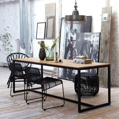 Buy the Rectangular table Form from House Doctor, on Made in Design - 48 to 72 hours delivery. Modern Interior Design, Interior Architecture, Interior And Exterior, Interior Office, House Doctor, Deco New York, Loft Industrial, Scandinavia Design, Style Loft