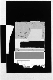 Louise Nevelson - Untitled (Solitude), 1986,...
