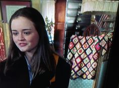 In Lanes mothers antique store. In episode where Rory and Dean kiss first time. Season 1 X 7