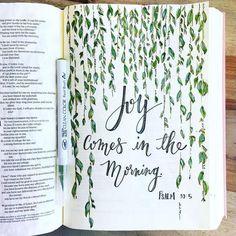 Psalmen 5 ESV / belief_and_eden Scripture Art, Bible Art, Bible Quotes, Bible Verses, Scriptures, Bible Verse Canvas, Psalm 30, Bible Journaling For Beginners, Bibel Journal