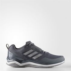 sale retailer 16d66 6aca4 Adidas Speed Trainer 3 Shoes (Onix  Metallic Silver  Running White) Adidas  Baseball