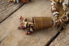 very pretty...wish I had a pretty brass thimble like this one