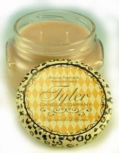 Tyler candles. Love Diva and High Maintenance-they make car scents and detergent to wash your bedding!