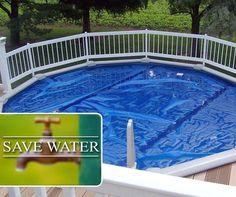 With water restrictions increasing throughout parts of the country, it's important to reduce evaporation in your swimming pool. Solar covers significantly reduce evaporation, decrease filter time, chemical use AND can also prolong your summer fun by increasing water temperature of up to 4 degrees. Contact your nearest Pet and Pool Warehouse for more information. #savewater #PetPoolWarehouse Pool Warehouse, Solar Cover, Save Water, Summer Fun, Swimming Pools, Filter, Facts, Country, Outdoor Decor