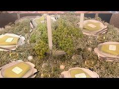 ▶ Wedding Reception Table Ideas for Less - Wedding Flowers - Martha Stewart Weddings - YouTube