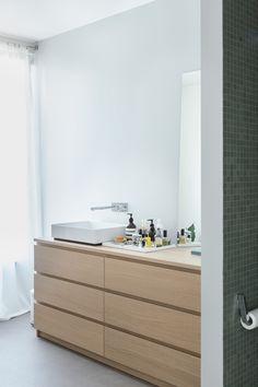 Ein Küchenschrank im Badezimmer | Bad-Umbau mit IKEA METOD ...