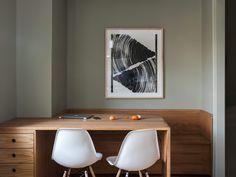 built in table/desk