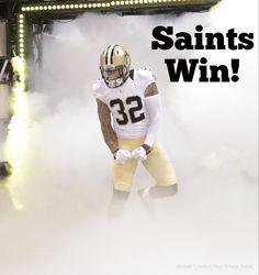 Saints Win