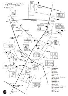 神楽坂 お散歩マップ