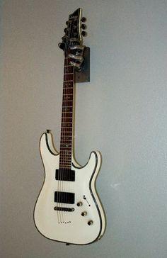 Artsy guitar hangers!