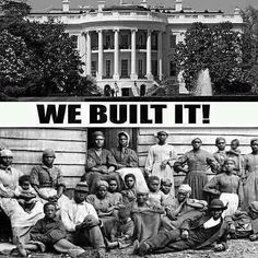 African American Constructed U.S. Capitol And The White House