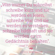 Mit einem Corporate Blog schreibst Du Dich in die Köpfe der Interessenten. http://www.katrin-wiedmaier.de/katrin-wiedmaier/blog/posts/Blogartikel-verfassen.php