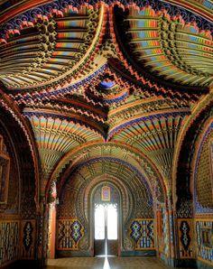The Peacock Room, Sammezzano Palazzo, Tuscany, Italy