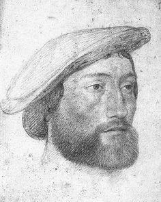 Clouet, Jean (1515c.-1572) - 1533c. Portrait of Jean de Dinteville, Seigneur de Polisy (Musee Conde, Chantilly)