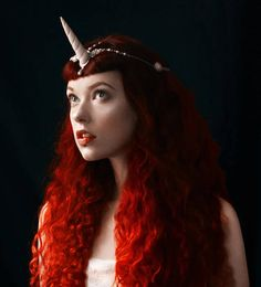 Unicorn Horn Headpiece Headdress Circlet Fantasy Pegasus Fantasy Girl, Unicorn Fantasy, Halloween Costumes Scarecrow, Unicorn Horn Headband, White Unicorn, Circlet, Pegasus, Headdress, Deep Blue
