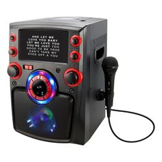 Bluetooth Karaoke Machine with 7 in. TFT Monitor and LED Light Show, Black iLive Bluetooth Karaoke Machine with 7 in. TFT Monitor and LED Light Show, Black Let Me Love You, I Love You Baby, Best Karaoke Machine, Karaoke Player, Karaoke System, Karaoke Party, Composite Video, Disco Lights, Built In Speakers