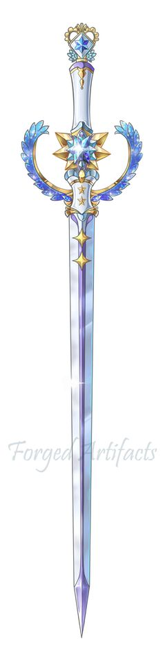 Mercury Sword [NOT FOR SALE] by Forged-Artifacts.deviantart.com on @DeviantArt