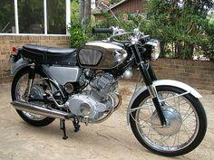 Classic 1960's HONDA Motorcycle,  Honda CB160