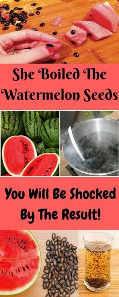 She Boiled The Watermelon Seeds And The Results Shocked Her! #health #wellness #interesting #tips #healthyfood