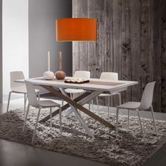 Renzo Extendable Table white