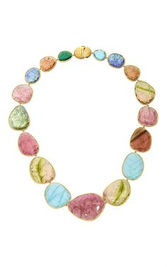One-of-a-kind mixed tourmaline Necklace by Marco Bicego for Preorder on Moda Operandi