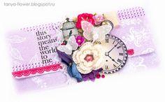 Tanya Flower: Подарочный конверт Morning Star - Violet Galeria Papiery