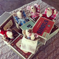For the kids: Matchbox Mice