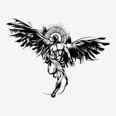 Stag Tattoo, Lion Head Tattoos, Dark Art Tattoo, Doodle Tattoo, Tatoo Art, Body Art Tattoos, Tattoo Drawings, Old School Tattoo Designs, Wing Tattoo Designs