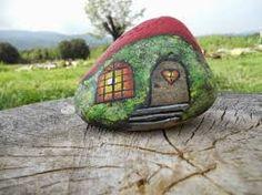 Afbeeldingsresultaat voor piedras pintadas a mano