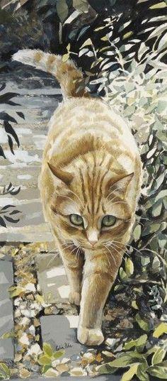 Down the Garden Path::by Celia Pike