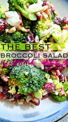 The Best Broccoli Salad Around