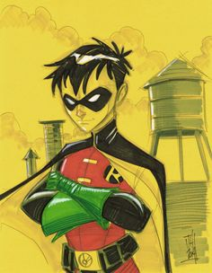 Robin by Tom Hodges