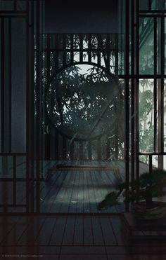 Aesthetic Art, Aesthetic Pictures, Pandaren Monk, Chinese Wallpaper, Fantasy Background, Chinese Architecture, Fantasy Landscape, Wallpaper Backgrounds, Anime Scenery Wallpaper