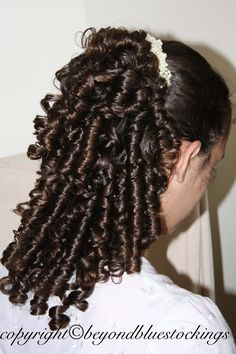 I want rag curls! Curled Hairstyles, Pretty Hairstyles, Girl Hairstyles, Edwardian Hairstyles, Vintage Hairstyles, Rag Curls, Ringlet Curls, Natural Hair Styles, Long Hair Styles