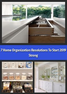 Kick 2019 off right with these home organization resolutions. Image: Rookery Design We hope you like the products we recommend. Just so you are aware, Fresho Cord Organization, Organizing, Calendar Reminder, Hanging Files, Filing System, Create Space, Junk Drawer, Big Houses, Resolutions