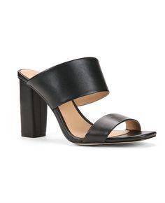 Trisha Leather Slides | Ann Taylor