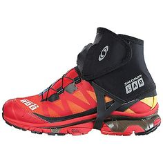 Keep rocks snow and mud from getting in your trail running shoes…