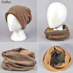 Multifunctional Snood Scarf and Beanie   Sneak Outfitters