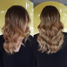 Changing a blocky blonde to this caramel delight for Autumn! Base colour, freehand low lighting with a few colour touch mixes and baby lights @wellapro. Fresh cut and style using @cloudninehair  #hairbygemmabandiera #wellafamily #wellalife #wellaau #colourmelt #seamlesscolour #sydneyhairsalons #cloudninehair #freehandblend #colourmyworld #olaplexau #olaplexsydney #sydney #dural #theradicalhairdesign #thehills #highlights #hairinspo
