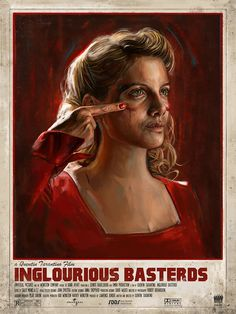 Inglourious Basterds by Robert Bruno - Home of the Alternative Movie Poster -AMP-