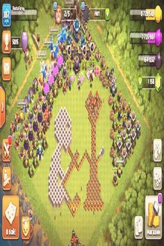Base Th 10 Terkuat 2018 : terkuat, Clash, Clans, Bases, Ideas, Clans,, Clan,, Royale