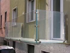 all-glass balcony