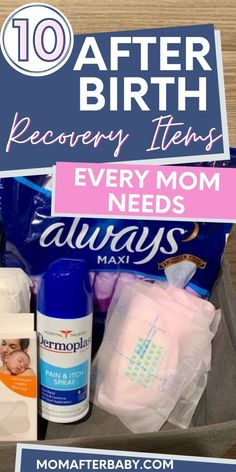 If you haven't put together your postpartum care kit to help you recover after birth, this list of the 10 most essential postpartum recovery items will help you get started! Sitz Bath Postpartum, Diy Postpartum, Postpartum Anxiety, Postpartum Recovery, Lansinoh Nursing Pads, Hunting Baby, After Giving Birth, Post Pregnancy, Survival