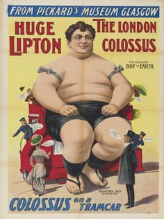 Professor Ouch's Sideshow Collections - Vintage Circus Posters (Freak Show Posters)