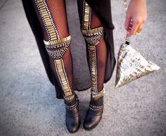beaded tights - this ish KRAY