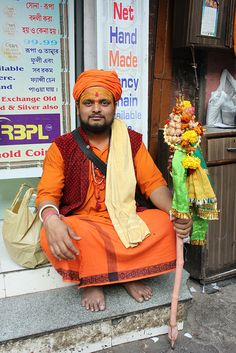 He Told Me To Meet Him At The Maha Kumbh by firoze shakir photographerno1, via Flickr